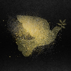 Picture of gold glitter